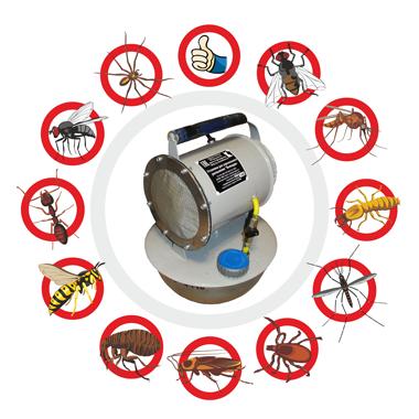 служба дезинфекции от насекомых