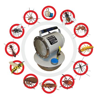 служба избавления от насекомых